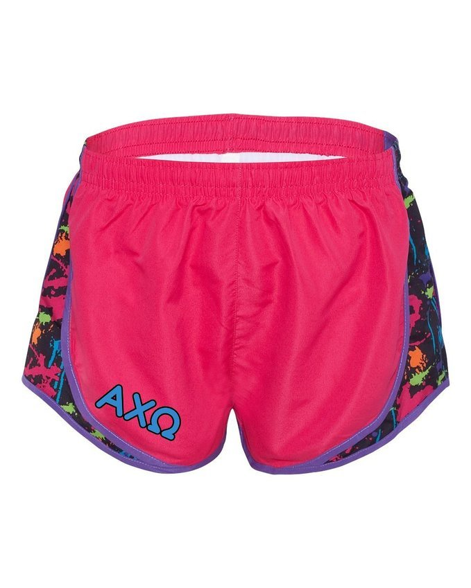 Alpha Chi Omega women's running shorts