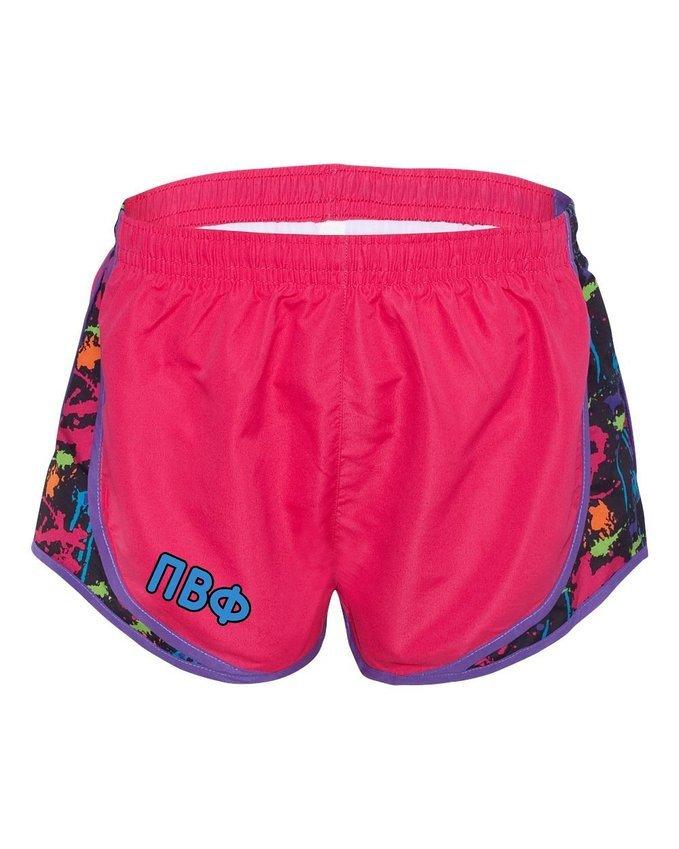 Pi Beta Phi women's running shorts