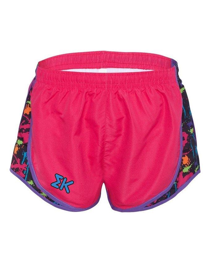 Sigma Kappa women's running shorts