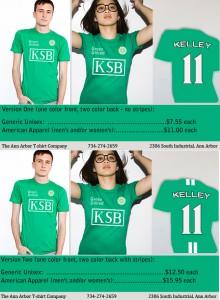 Kelley School of Business t-shirts