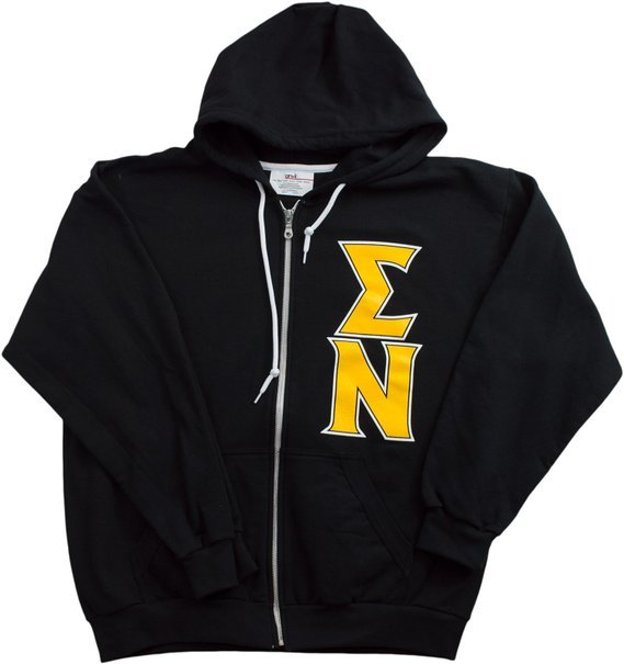Sigma Nu full zip sweatshirt